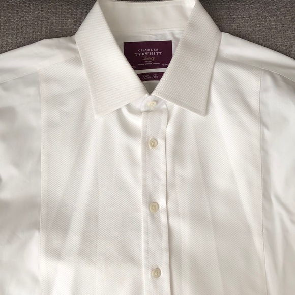 f7e13423 Charles Tyrwhitt Other - Charles Tyrwhitt Luxury slim fit tuxedo shirt